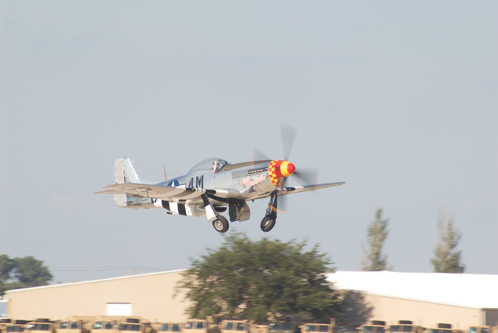 Win a flight in a P-51 | Warbird Wednesday